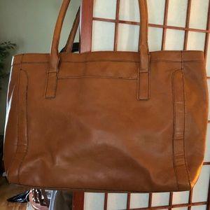 Large Merona brown bag